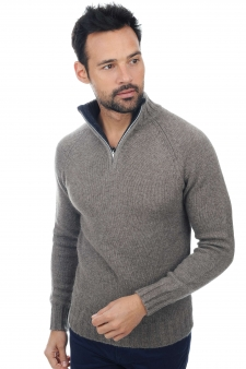 Cashmere & Yak  heren polo stijl pullover howard
