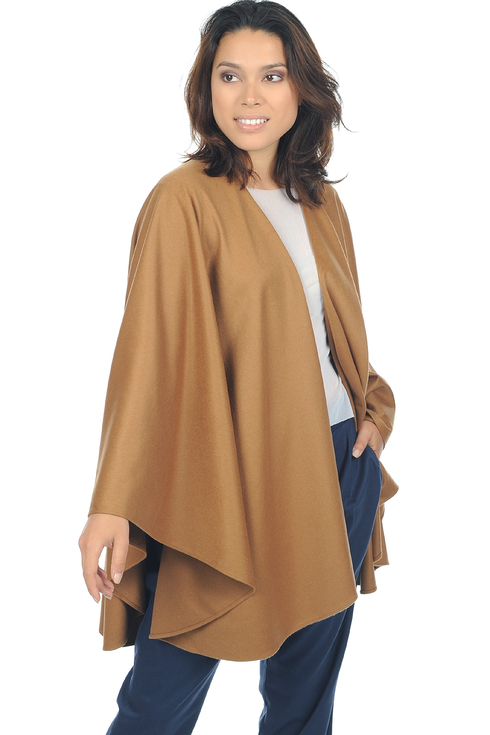 Vicuna accesoires stola vicunacape naturel bruin one size